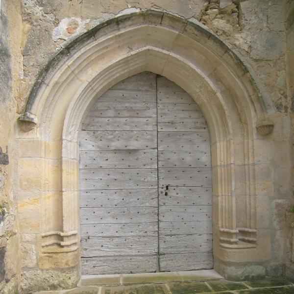Portail église après
